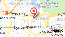 Бутик-Отель Met на карте