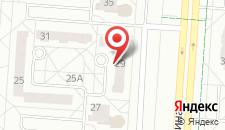 Апартаменты на Кунцевщина 29 на карте