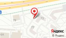 Апартаменты Red Cat на карте