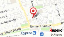 Отель Hotel Burgas на карте