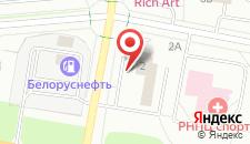 Отель Спорт-тайм на карте