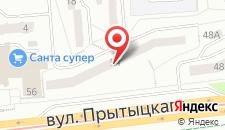 Апартаменты улица Притыцкого 54 на карте