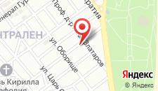 Апартаменты Geri Apartment на карте