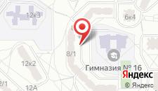 Апартаменты Арена Сити на карте