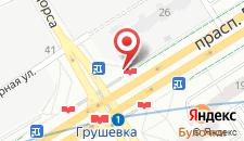 Апартаменты Алекс на Дзержинского на карте