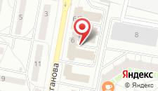Апартаменты рядом с институтом Культуры на карте