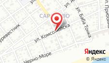 Апартаменты Eli Apartments - Different locations in Sarafovo, на карте