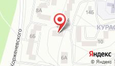 Гостевой дом Янка на карте