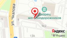 Апартаменты На Чкалова на карте