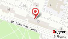 Апартаменты Танка 10 на карте
