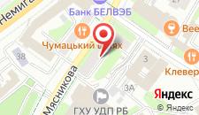 Апартаменты Vip-kvartira Myasnikova на карте