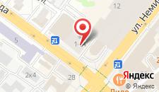 Апартаменты на Немиге 14 на карте
