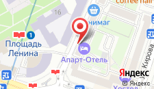 Апартаменты Vip-kvartira 1 на карте