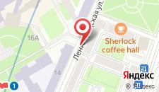 Апартаменты Vip-kvartira Leningradskaya 1 на карте