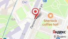 Апартаменты Studiominsk 9 Apartments на карте