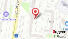 Апартаменты На Жуковского 9 на карте