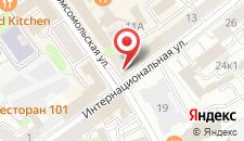 Апартаменты Сити Центр на карте