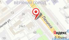 Апартаменты Минск на Ленина на карте