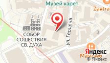 Отель Монастырский на карте