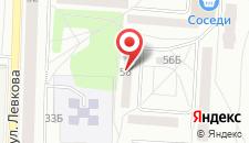 Апартаменты Svetlana Apartment на карте