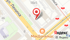 Апартаменты Minsk Apartment Service Luxe class на карте