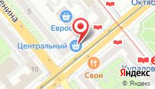 Апартаменты Гостиминск на Независимости 23 на карте