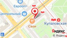 Апартаменты Studio Flat Minsk на карте