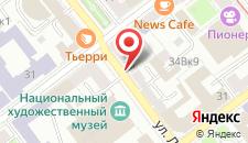 Апартаменты MinskForMe 1 на карте