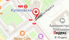 Апартаменты Минсклюкс на карте