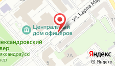 Апартаменты Минск на карте