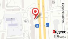 Апартаменты На Маяковского 14 на карте