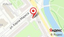Апартаменты Апартаменты ДомМинск на Карла Маркса на карте