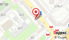 Апартаменты Vip-kvartira Kiselyova 3 (2) на карте