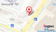 Апартаменты в Минске 1 на карте