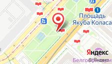 Апартаменты Рентапарт-Минск на карте