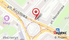 Апартаменты Vip-kvartira на Козлова на карте