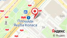 Апартаменты В доме Столичный на карте