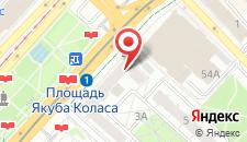 Апартаменты Nezavisimosti Apartment на карте