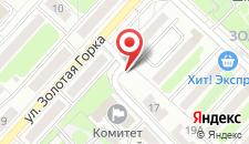 Апартаменты Ольга 2 на карте
