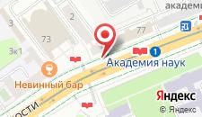 Апартаменты VIP House Apartments 1 on Prospect Nezavisimosti на карте