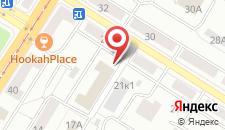 Апартаменты Апартаменты на Калинина на карте