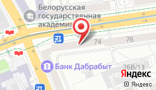 Апартаменты Vip-kvartira Nezavisimosti 74 на карте