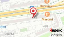 Апартаменты Vip-kvartira Nezavisimosti 78 на карте