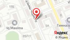 Апартаменты Arenda Apartments - Chernogo per.4 на карте