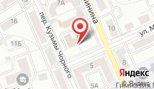 Апартаменты Vip-kvartira Kuzmy Chornogo 4 на карте