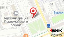 Апартаменты на Калинина на карте
