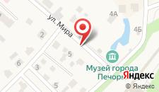 Отель Печоры - Дом на карте