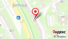 Апартаменты на Руссиянова 18 на карте