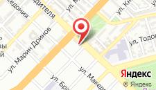 Отель Hotel Orbita на карте