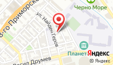 Апартаменты Апартамент Севастиян на карте